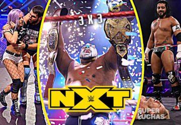 3 x 3: Lo mejor y lo peor de NXT 8 de julio 2020