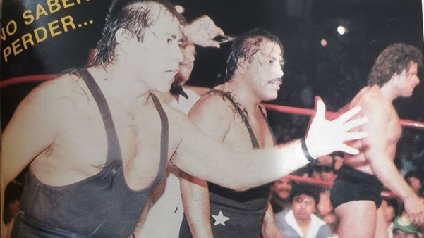 Xavieres vs. Destructores en 1987