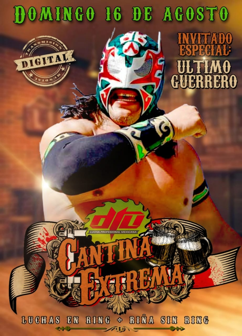 Último Guerrero confirmado para DTU: Cantina Extrema.