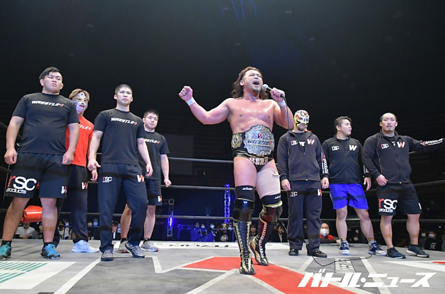 "W-1: ""Wrestle Wars 2020"" Kaz Hayashi new champion 3"
