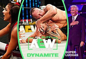 3 x 3: Lo mejor y lo peor de AEW Dynamite 5 de agosto 2020