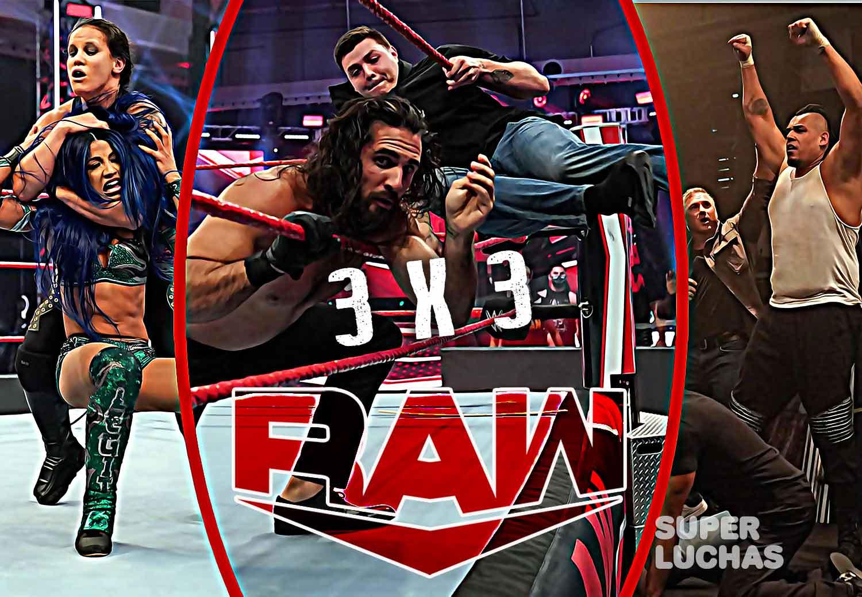 3 x 3: Lo mejor y lo peor de Raw 3 de agosto 2020