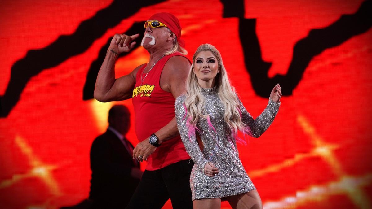 pantallas Hulk Hogan en WrestleMania 36