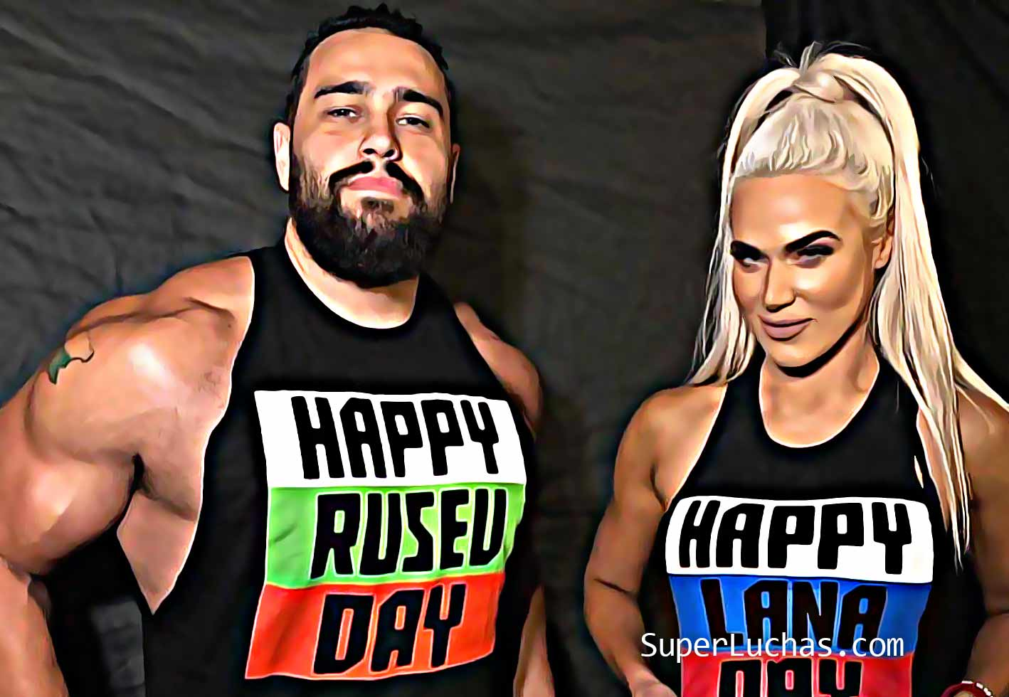 Rusev returns to ally with Lana