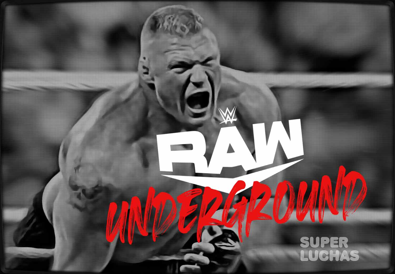 Brock Lesnar Raw Underground