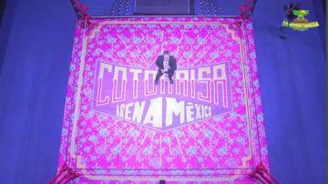 La Cotorrisa llegó a la Arena México del CMLL