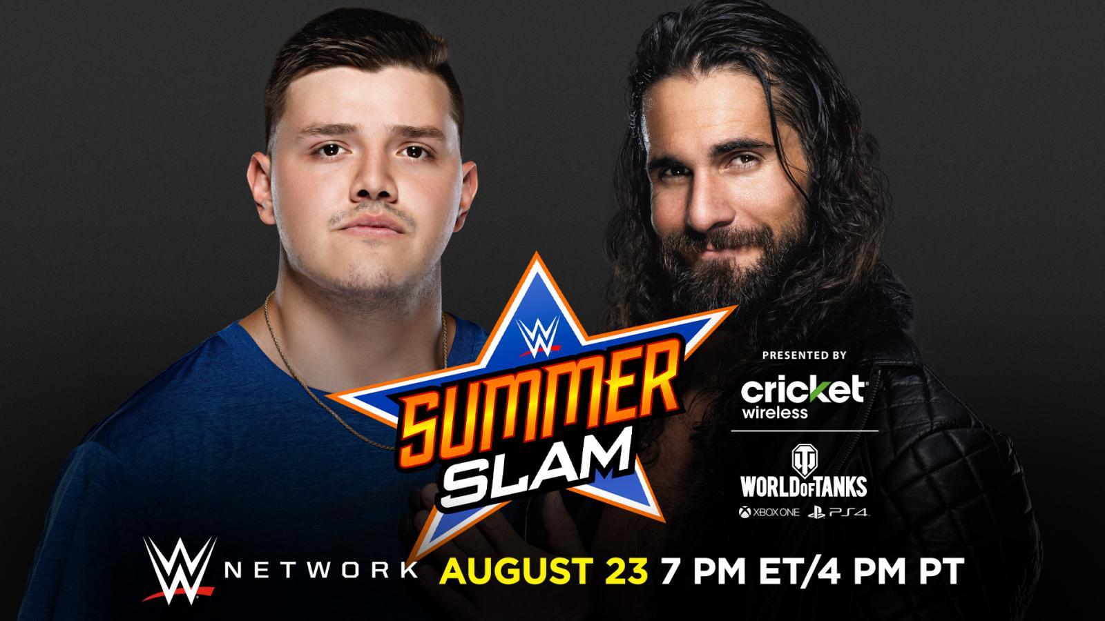 Dominik Mysterio vs Seth Rollins en WWE SummerSlam 2020 (23/08/2020) / WWE