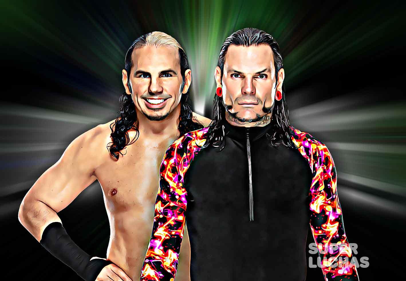 Matt y Jeff Hardy.
