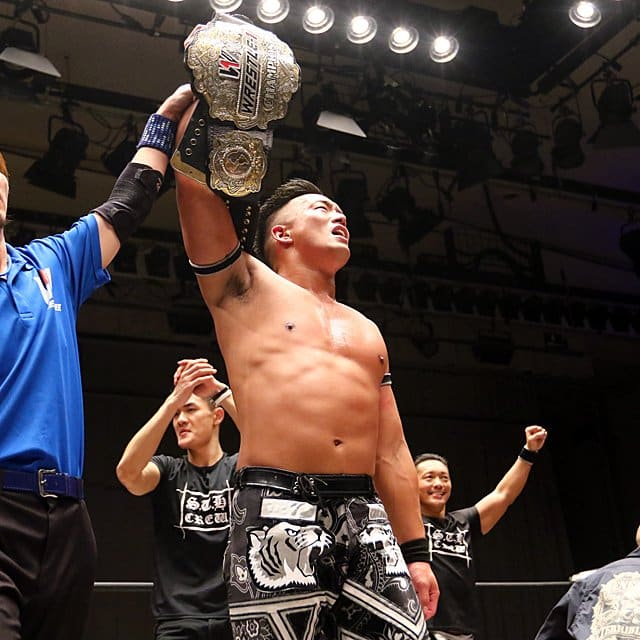 "W-1: ""Wrestle-1 Tour 2019 Sunrise"" T-Hawk dethrones Ashino   Superfights"
