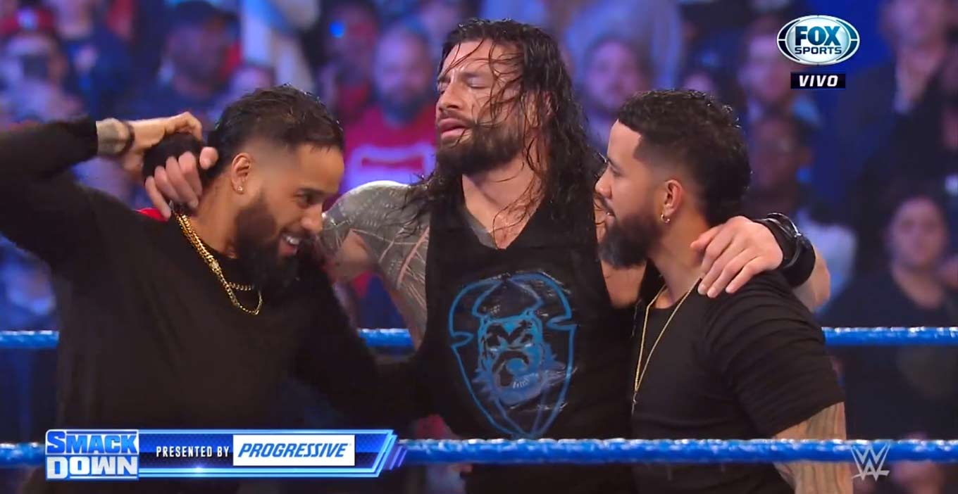 The Usos en After the Bell