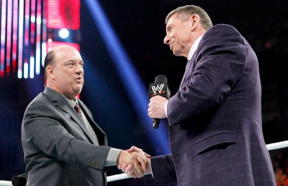 Vince McMahon desaprueba a Paul Heyman