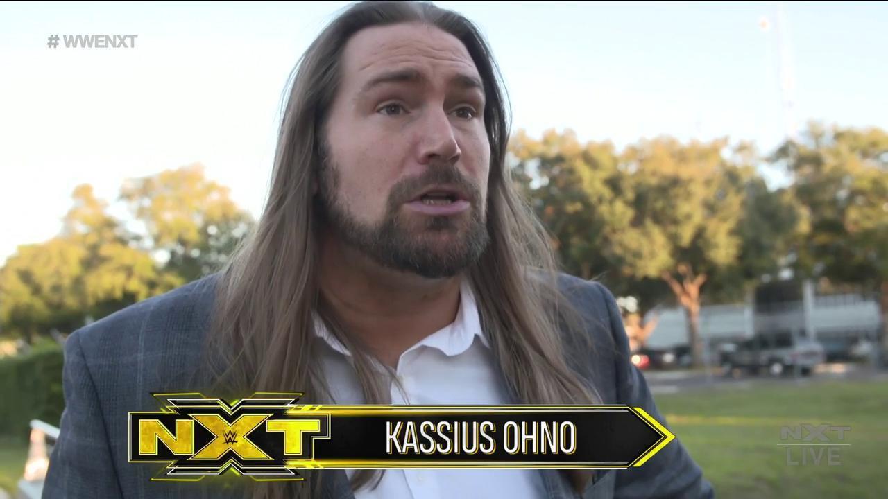 Kassius Ohno no habría sido despedido Kassius Ohno confirma su despido de WWE
