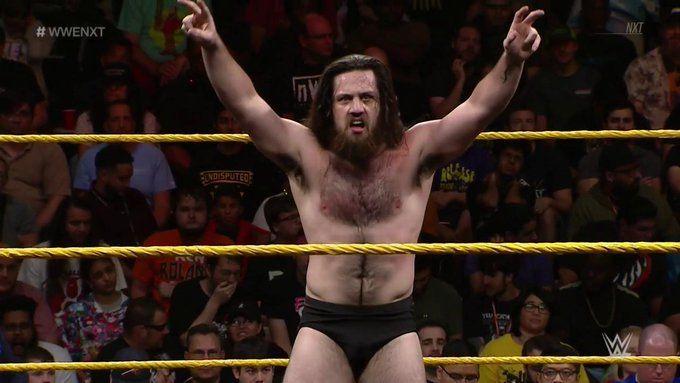 KUSHIDA vs Cameron Grimes en NXT