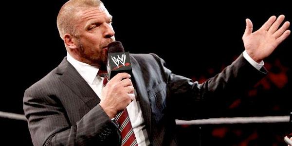 Triple H executive / WWE