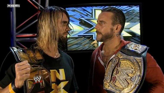 CM Punk vs. Seth Rollins