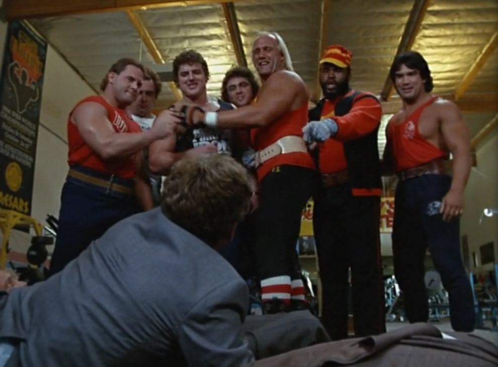 Hulk Hogan and the A-Team