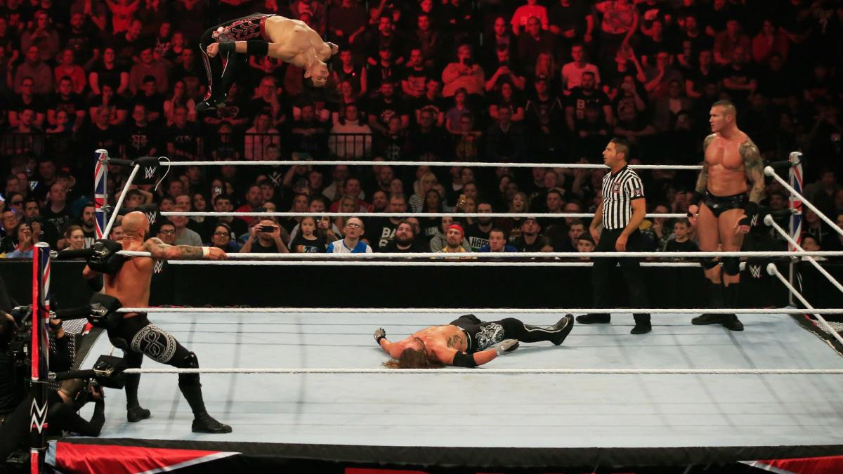 Humberto Carrillo vs. AJ Styles