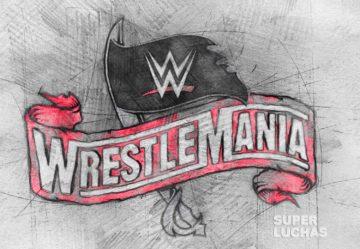 WrestleMania 36 logo