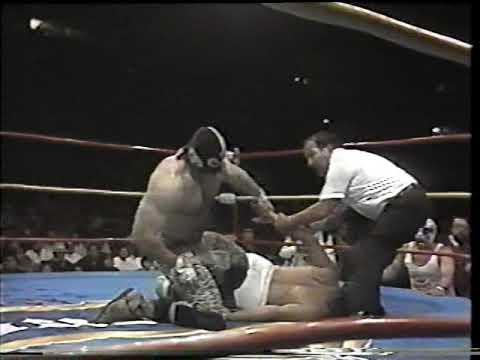 Konan vs Perro Aguayo 1991