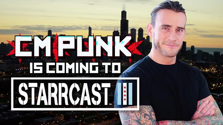 CM Punk presente en Starrcasts III (31/08/2019) / Twitter.com/BodyslamNet/