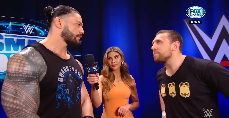 Roman Reigns et Daniel Bryan