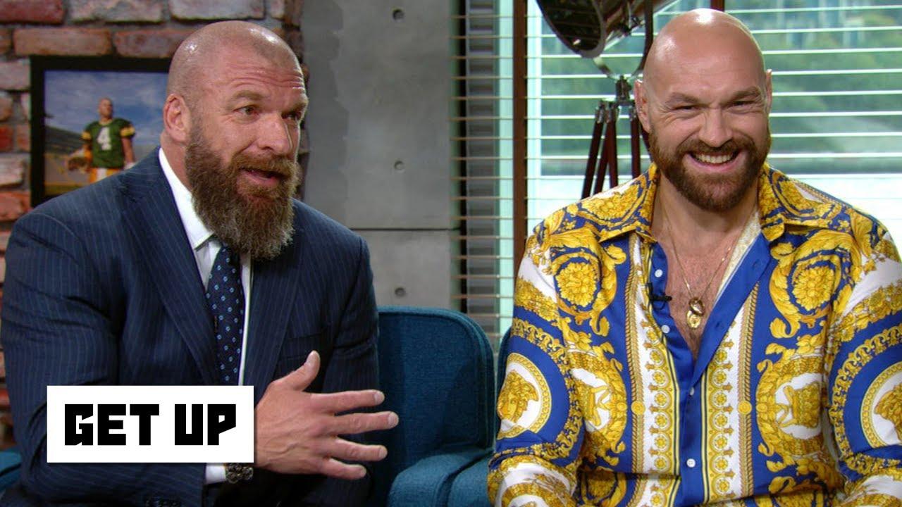 Triple H y Tyson Fury / WWE / ESPN Tyson Fury regresará a WWE