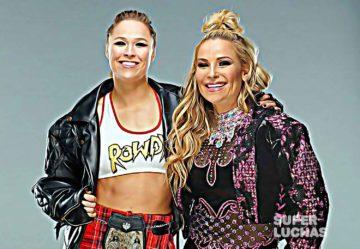 Ronda Rousey y Natalya