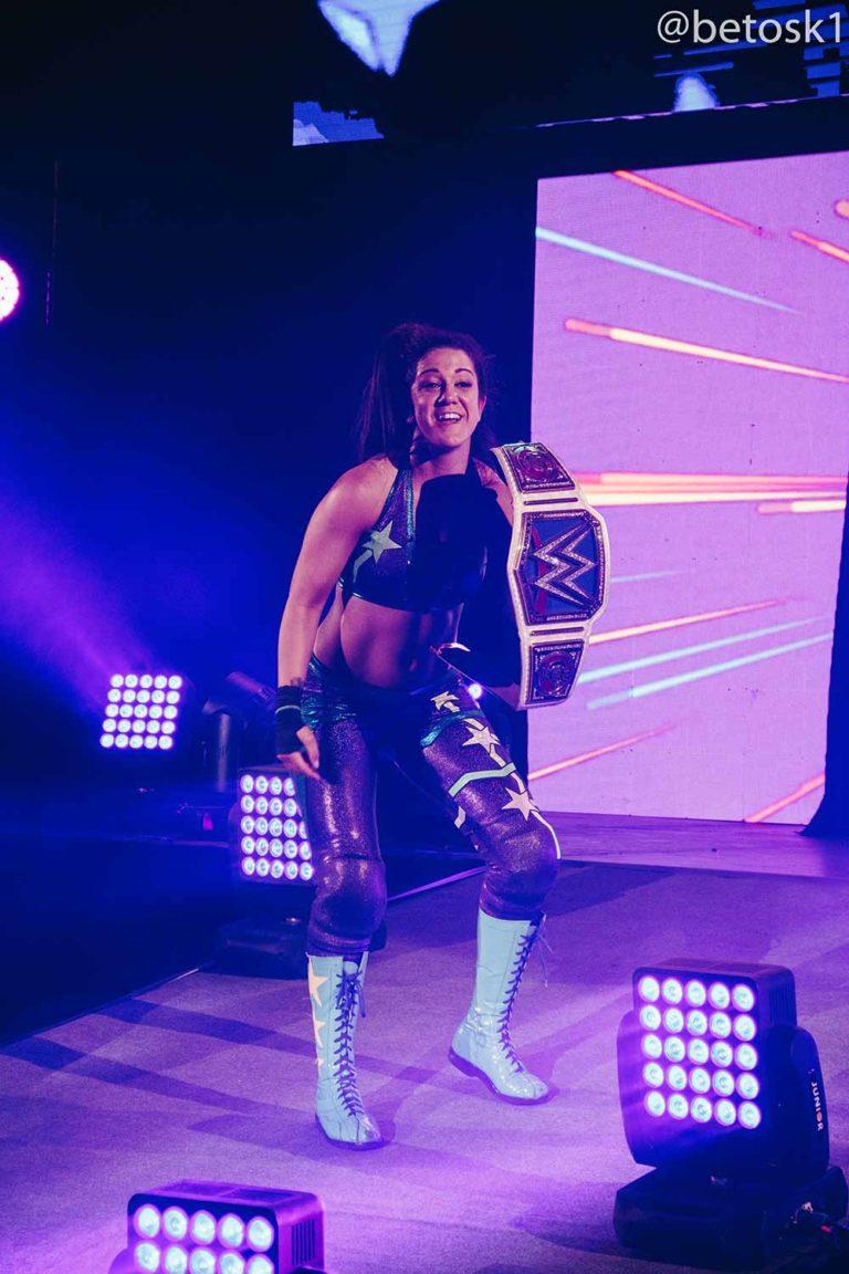 Bayley / WWE Live Chile