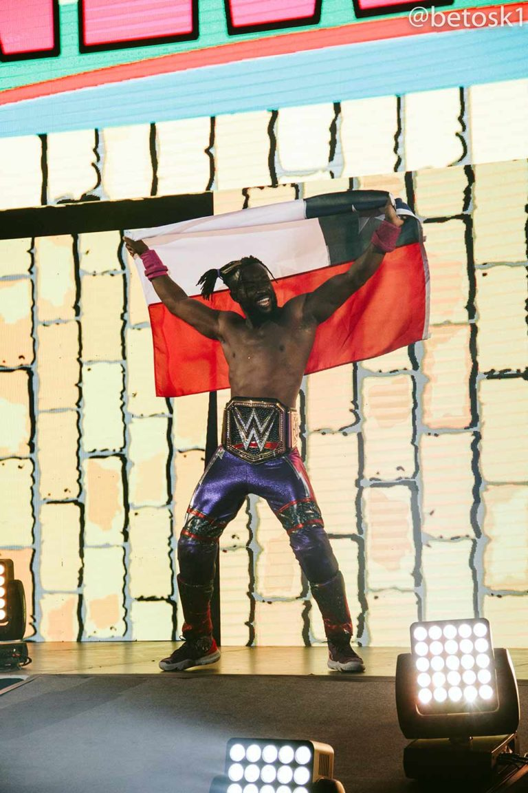 Kofi Kingston / WWE Live Chile