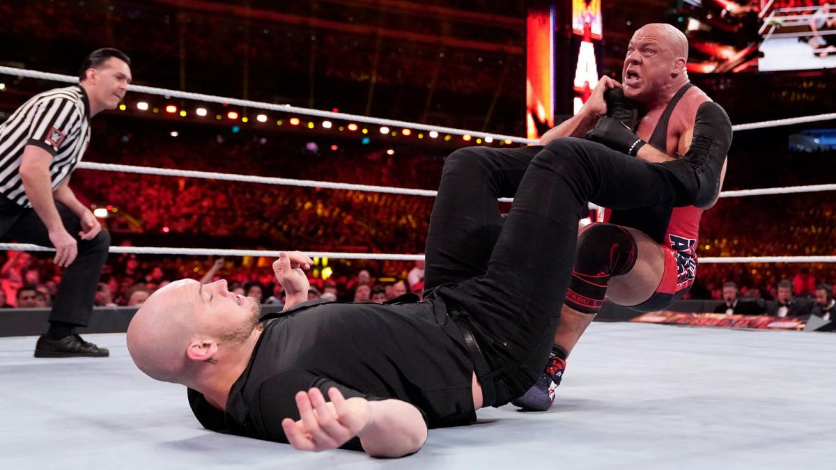 Baron Corbin vs.  Kurt Angle at WWE WrestleMania 35 / WWE
