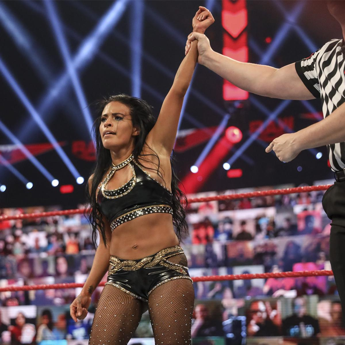 Zelina Vega on the September 21, 2020 episode of Raw - WWE