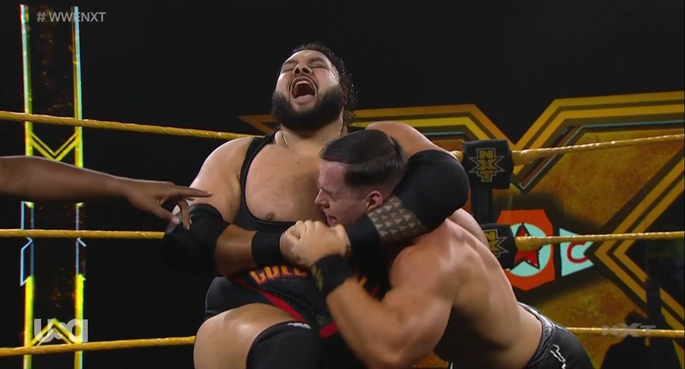 Bronson Reed defeats Austin Theory in a great fight in NXT - Superfights