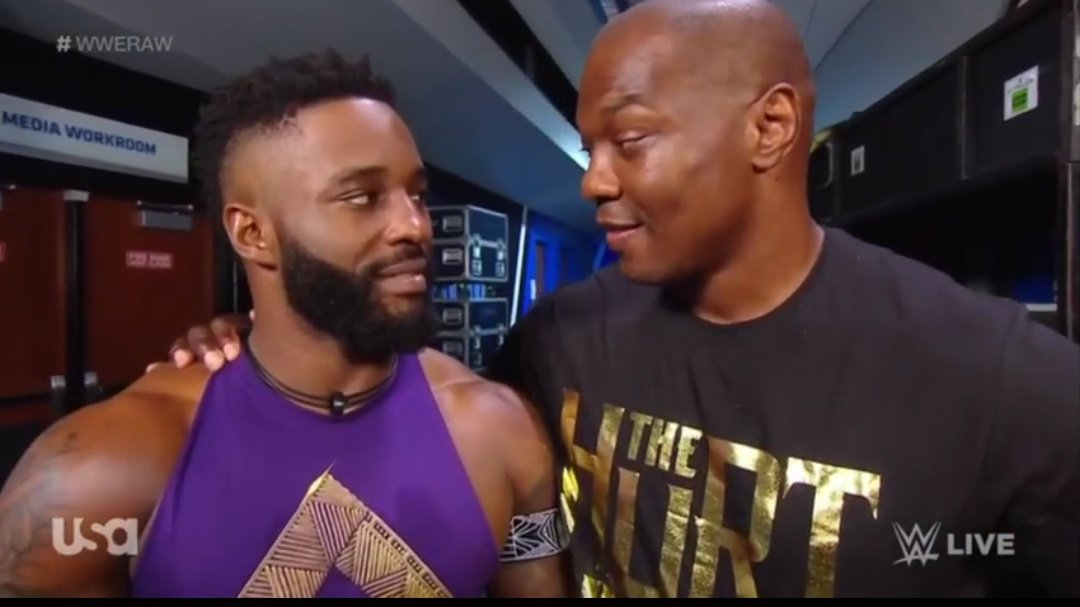 Shelton Benjamin and Cedric Alexander Split Up