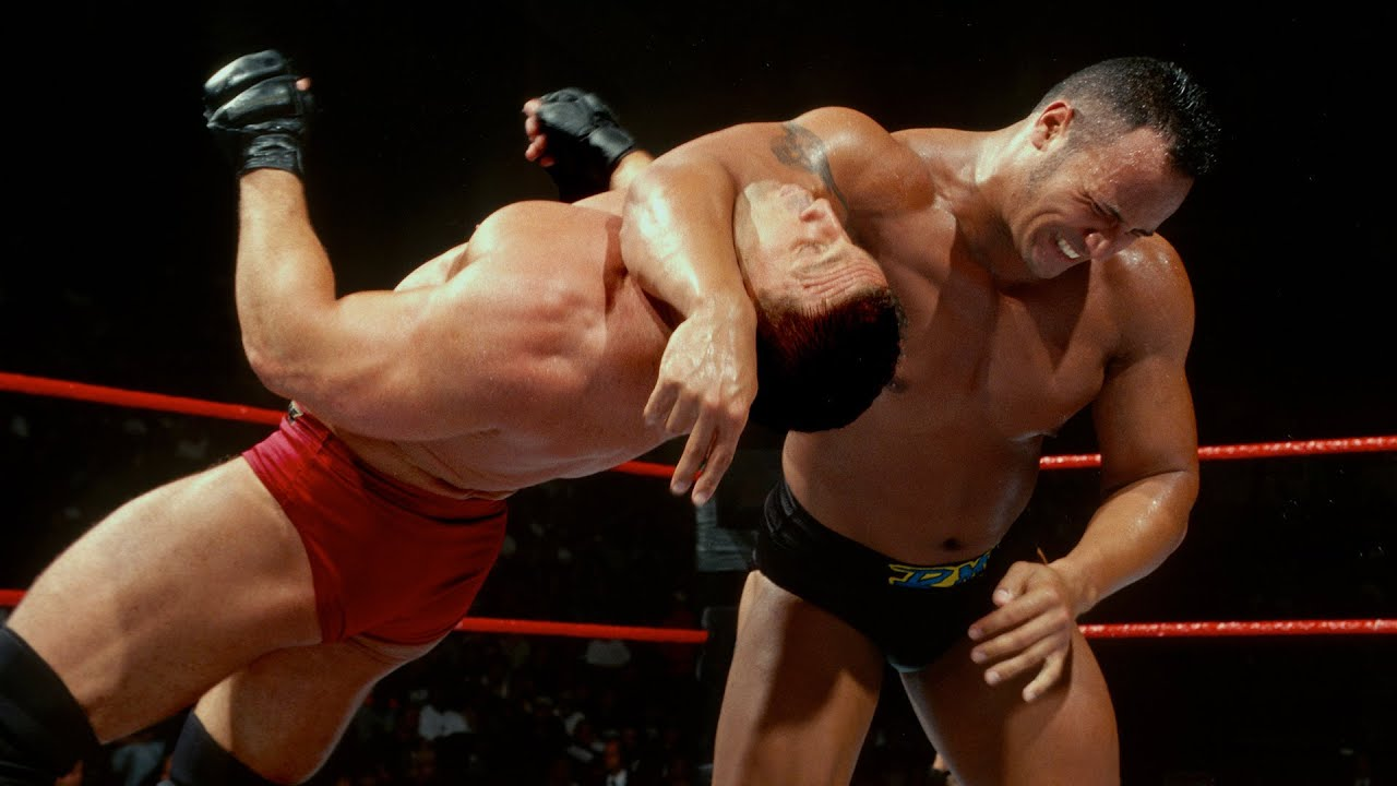 Ken Shamrock vs The Rock 01