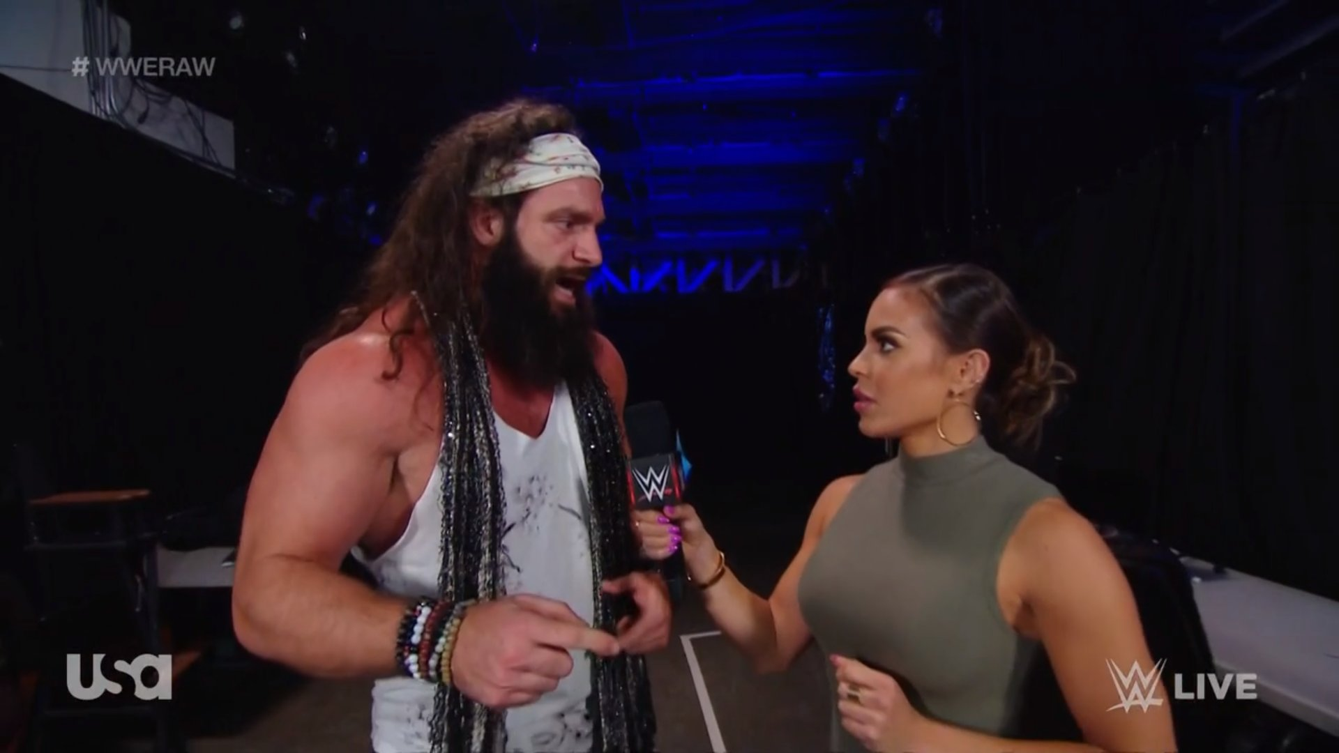 Elias would receive a great boost after his return to Raw - Superfights