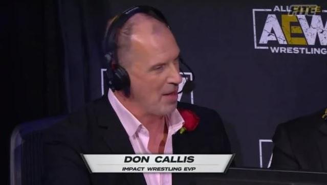 Don Callis at AEW Full Gear 2020 - AEW