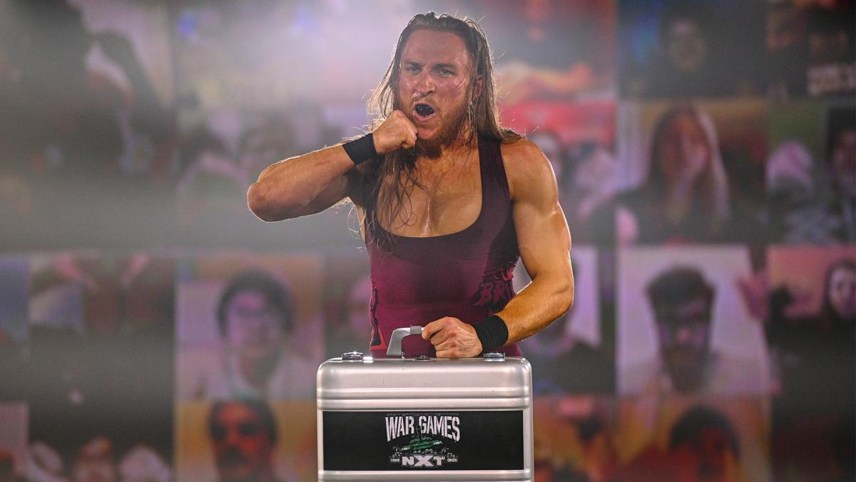 Pete Dunne on the November 25, 2020 episode of NXT - WWE