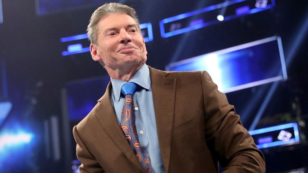 Vince McMahon on SmackDown in 2019 - WWE