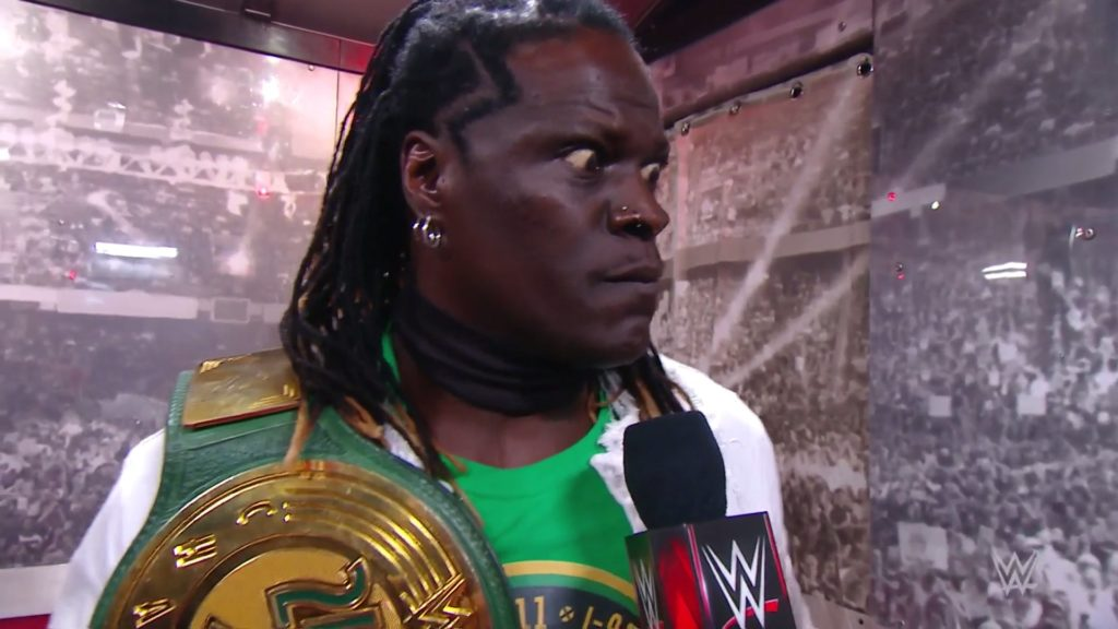"R-Truth is one of the few fighters that Mr. McMahon gives the freedom to ""let it be"""