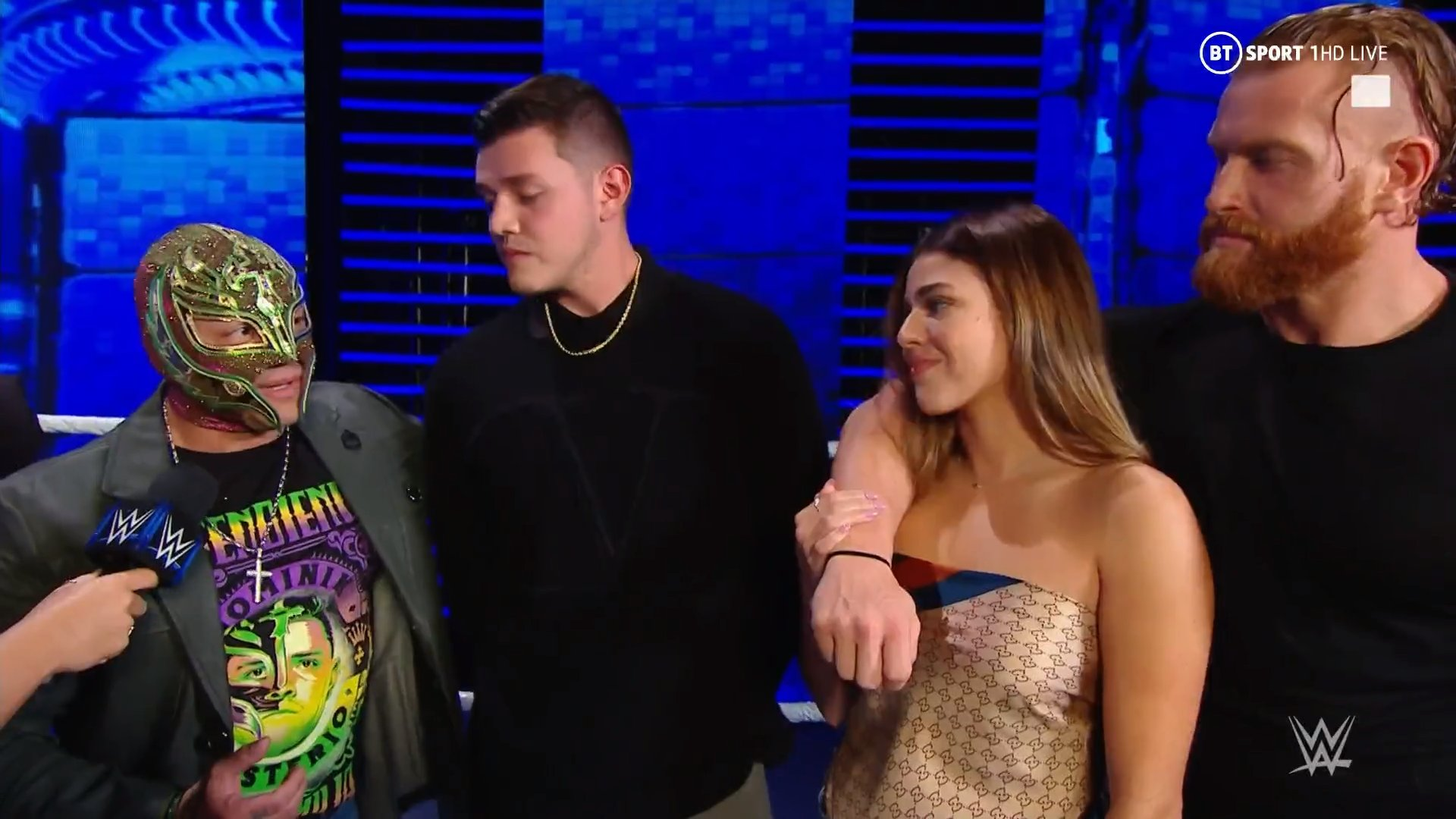 Rey Mysterio Dominik Aalyah & Murphy Smackdown November 27, 2020