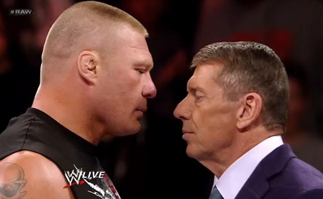 Brock Lesnar and Vince McMahon / WWE