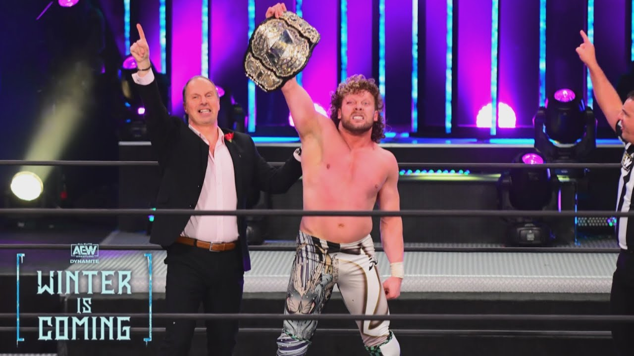 Don Callis and Kenny Omega on the December 2, 2020 episode of AEW Dynamite - AEW