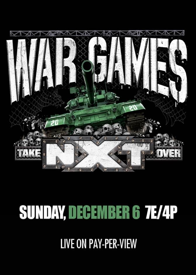 Cómo ver NXT TakeOver: WarGames 2020 en vivo