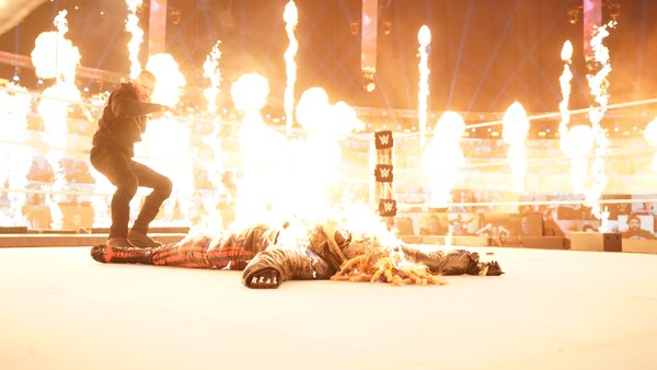 Bray Wyatt breaks his silence after being burned by Randy Orton