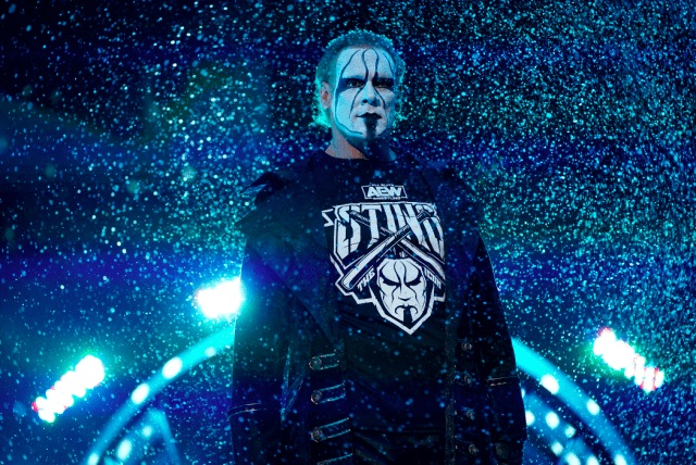 Sting on the December 9, 2020 episode of AEW Dynamite / AEW