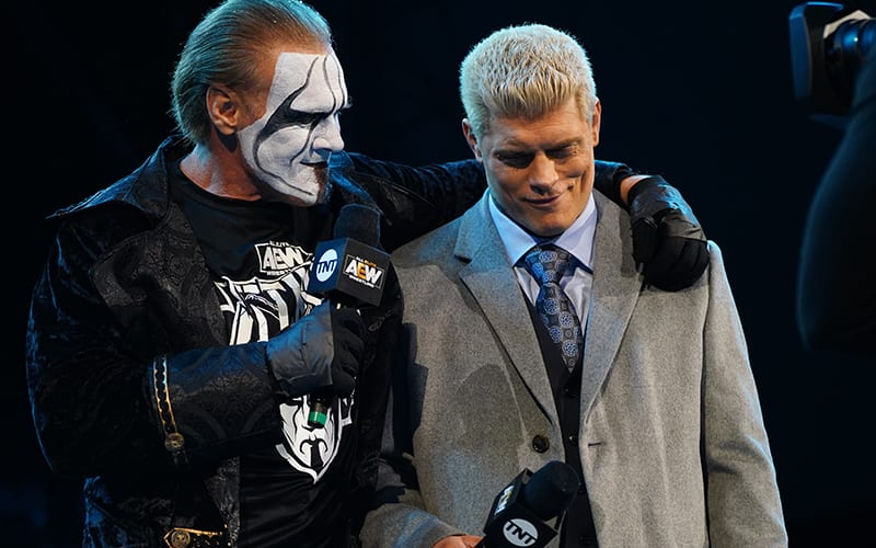 Cody wants to defeat Sting, but not in cinematic fight