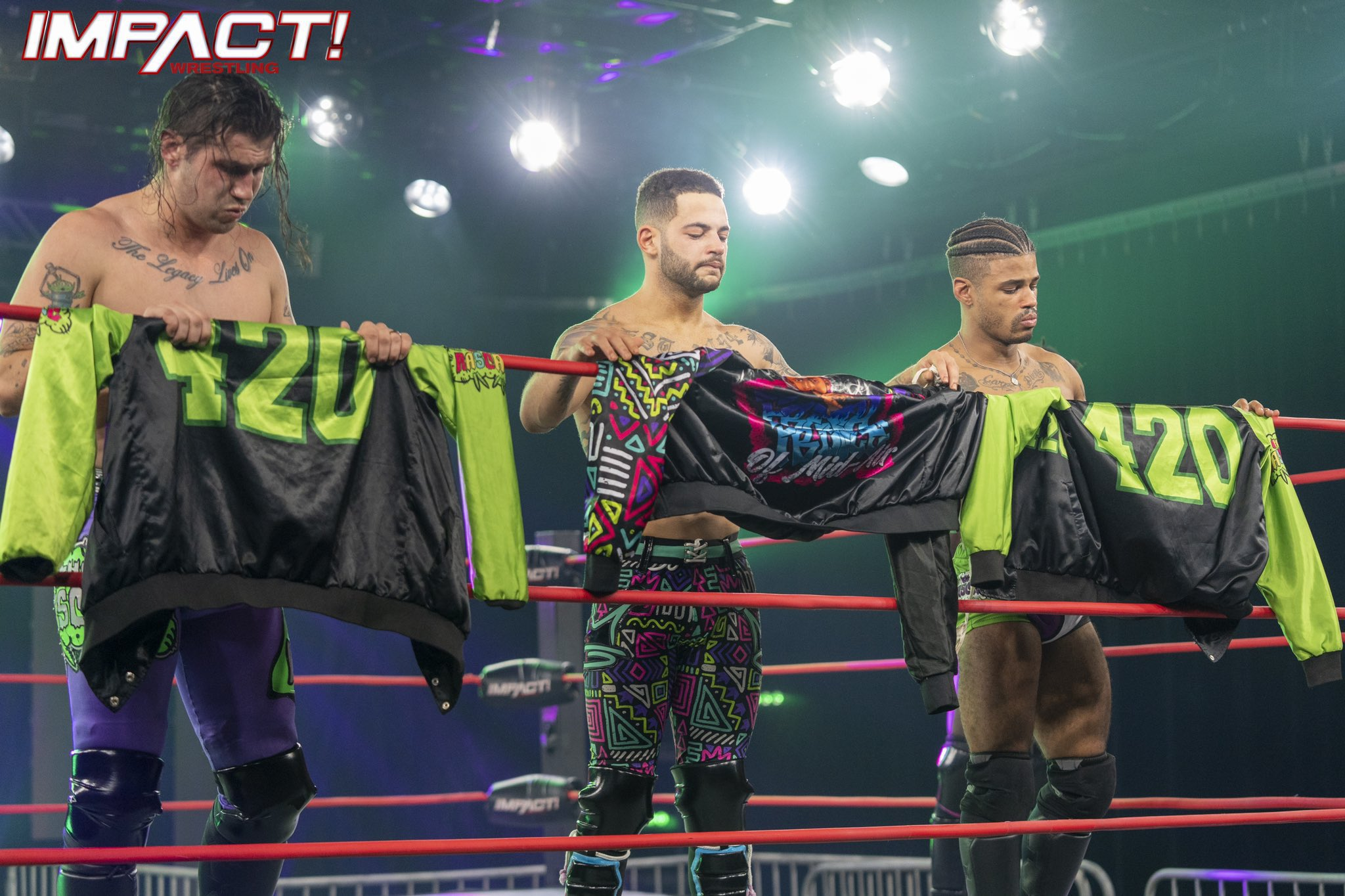 The Rascalz on the November 17, 2020 episode of Impact Wrestling - Anthem Sports & Entertainment