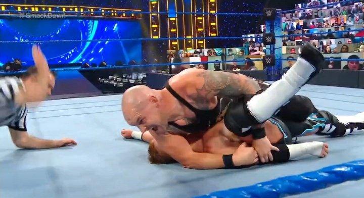 King Corbin vs Murphy - SmackDown 4 décembre 2021