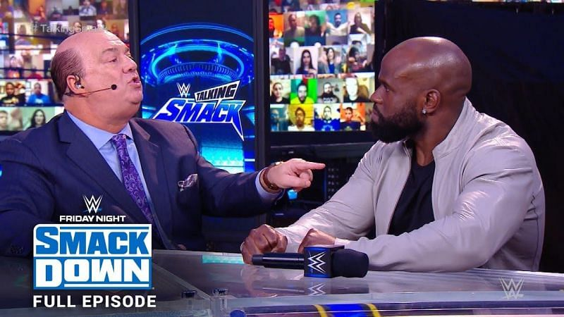 Paul Heyman thinks Apollo Crews is a good boy and that's why he loses