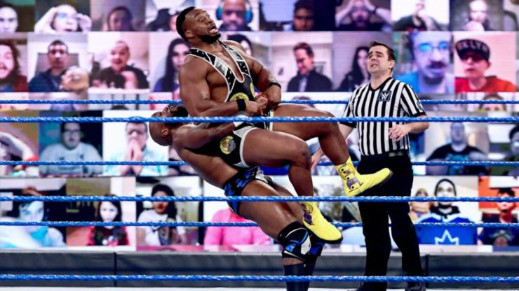 Apollo Crews was Big E's rival in the most recent title defense